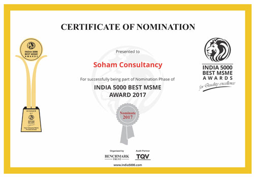 Certificate of Nomination